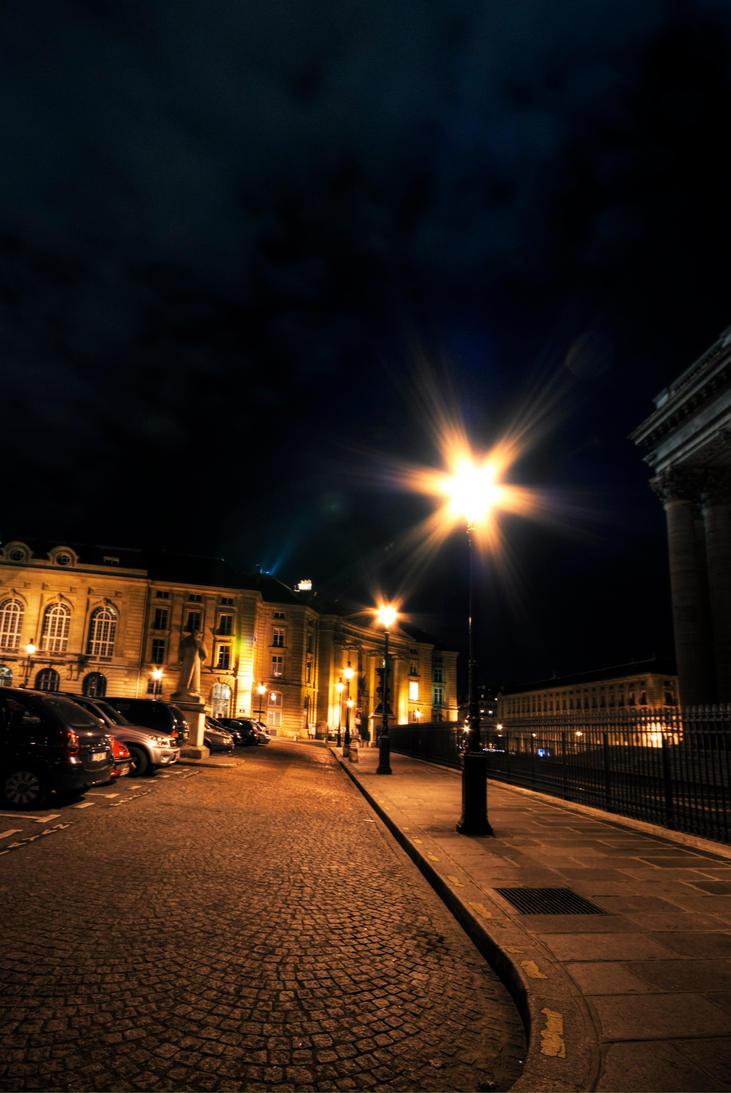 Street Lamp by Awstein
