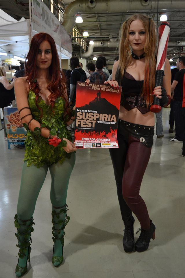 Cosplay Poison Ivy and Harley Quinn by Hieichy