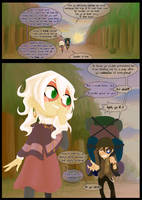 Masque Audition Page 1 by Archie-and-Anya
