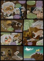 Masque Round 2 Page 1 by Archie-and-Anya
