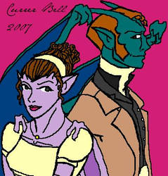 Pride and Prejudice Goyles by currerbell