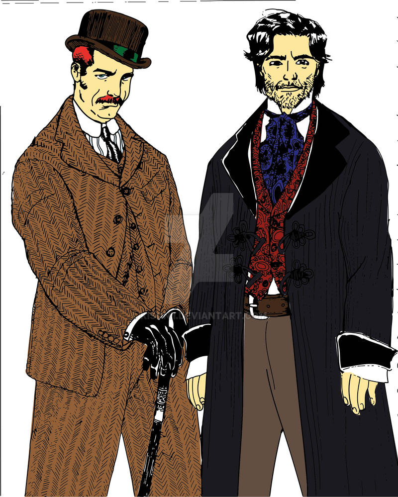 John and Sherlock Colour