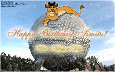 Have a Magical Birthday Timitu
