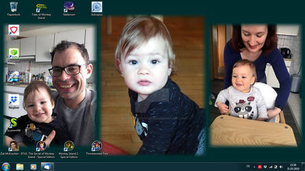 My Son and His Family Life Wallpaper
