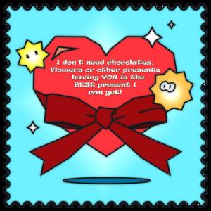 Valentine's Day Card 2021: Present
