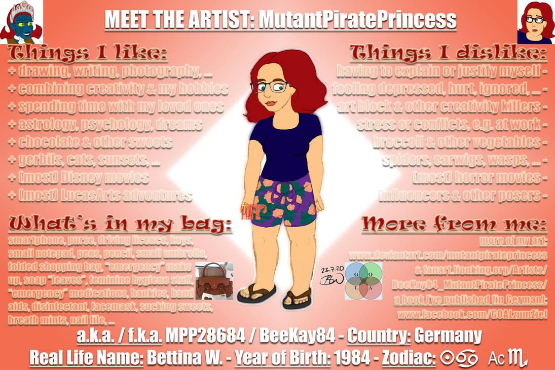 Meet The Artist: MutantPiratePrincess
