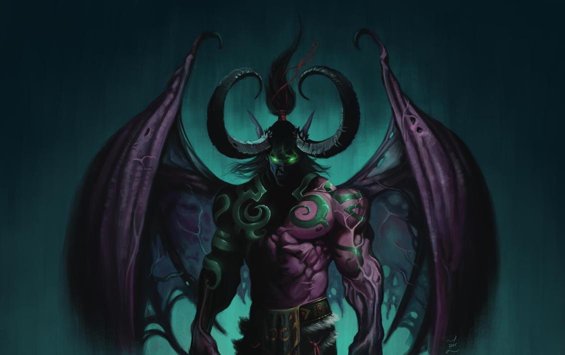 Illidan Vs Demon Warcraft 3 - #GolfClub