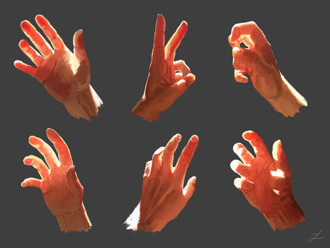 Subsurface Scattering (Hand Study)