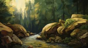 Creek. by Zary-CZ