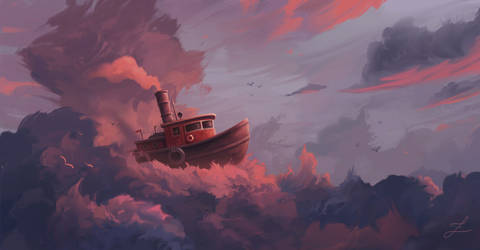 Cloudy Sea.