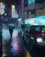 <b>Rainy City - Study.</b><br><i>Zary-CZ</i>