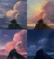 Clouds. (Mood Study)