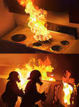 Fire studies.