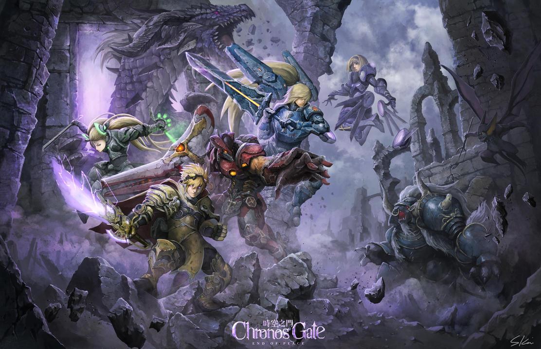 Chronos gate by skaiChu