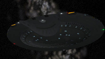 USS Atlantic - Saucer