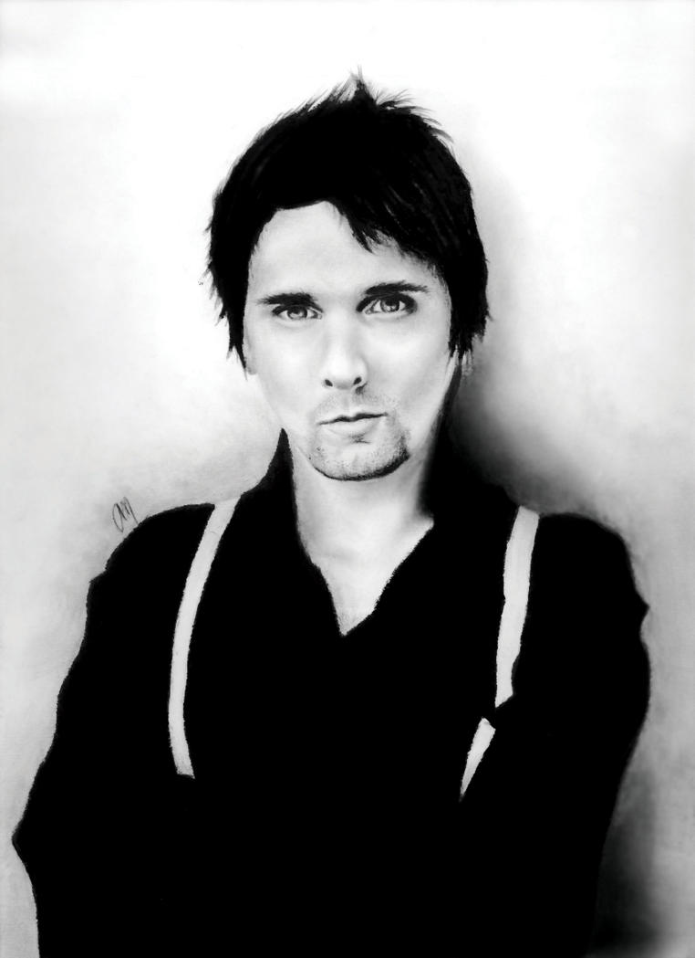Matthew Bellamy 07.5.07 by SpiralstatiK