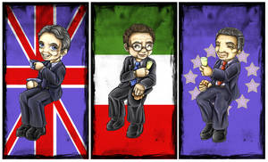 Tony, Prodi and Barroso by TwinSnake