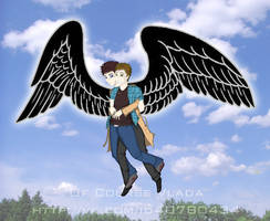 SPN: Dean's first flight by OfCourseVlada
