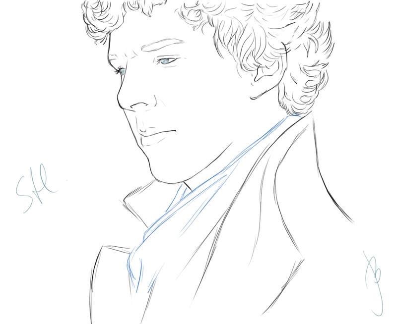 Sherlock by OfCourseVlada