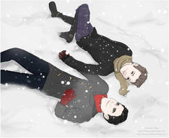 Christmas Klaine by OfCourseVlada