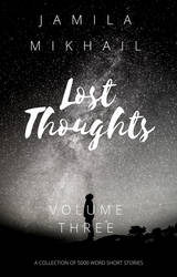 Lost Thoughts - Volume Three (Book Cover) by KeepYourGoodHeart