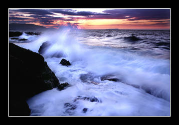 Evening Wave by manosZ