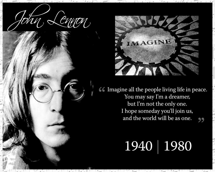 John Lennon by shellyllauer