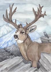 Deer King by Gray-Ghost-Creations