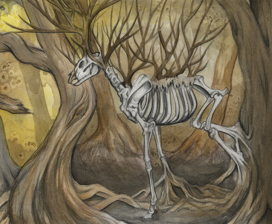 Dead Forest Elemental by MorRokko