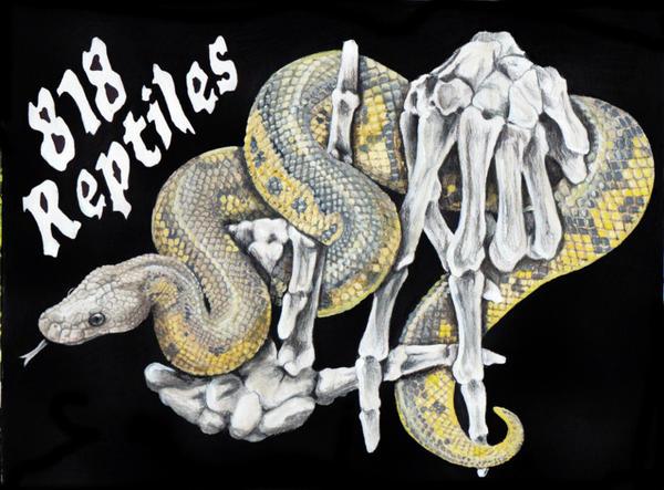 818 Reptiles Logo by MorRokko