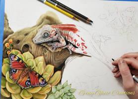 Gargoyle Gecko - Work In Progress