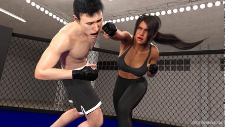 Anonymous - Yesenia MMA 04