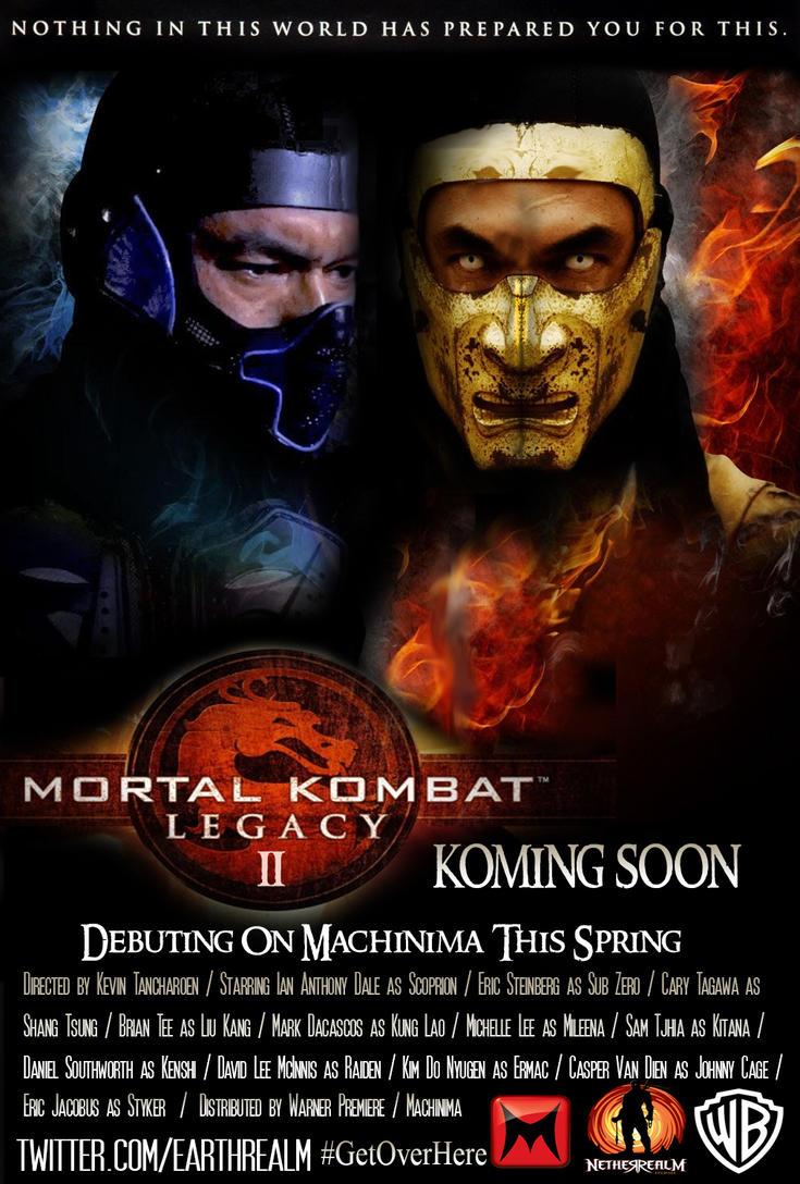 Mortal Kombat Legacy Season 2 Poster by RedVirtuoso