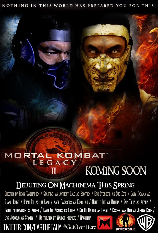 Mortal Kombat Legacy 2ª temporada completa (Legendado) WEBRip RMVB