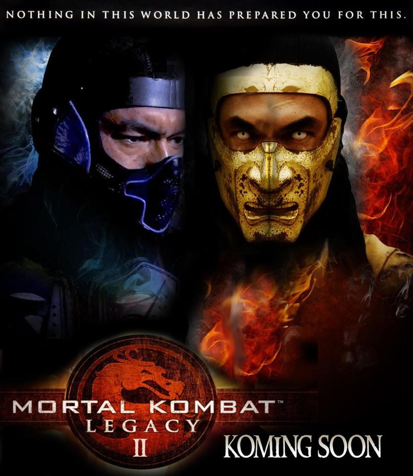 mortal kombat legacy ii poster scorpion by redvirtuoso on