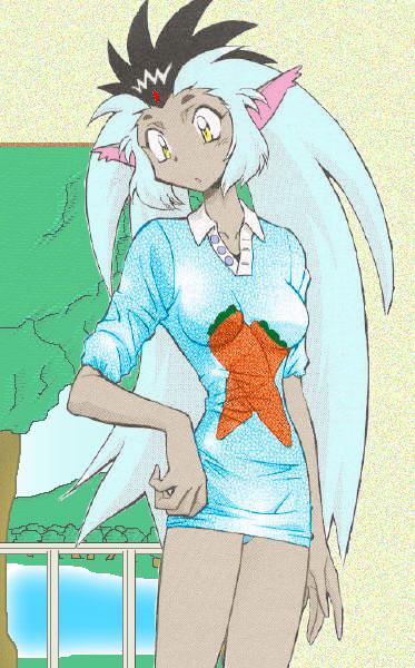 Ryo-ohki - Human form Tenchi Muyo http://fc05.deviantart.net/fs21 ...
