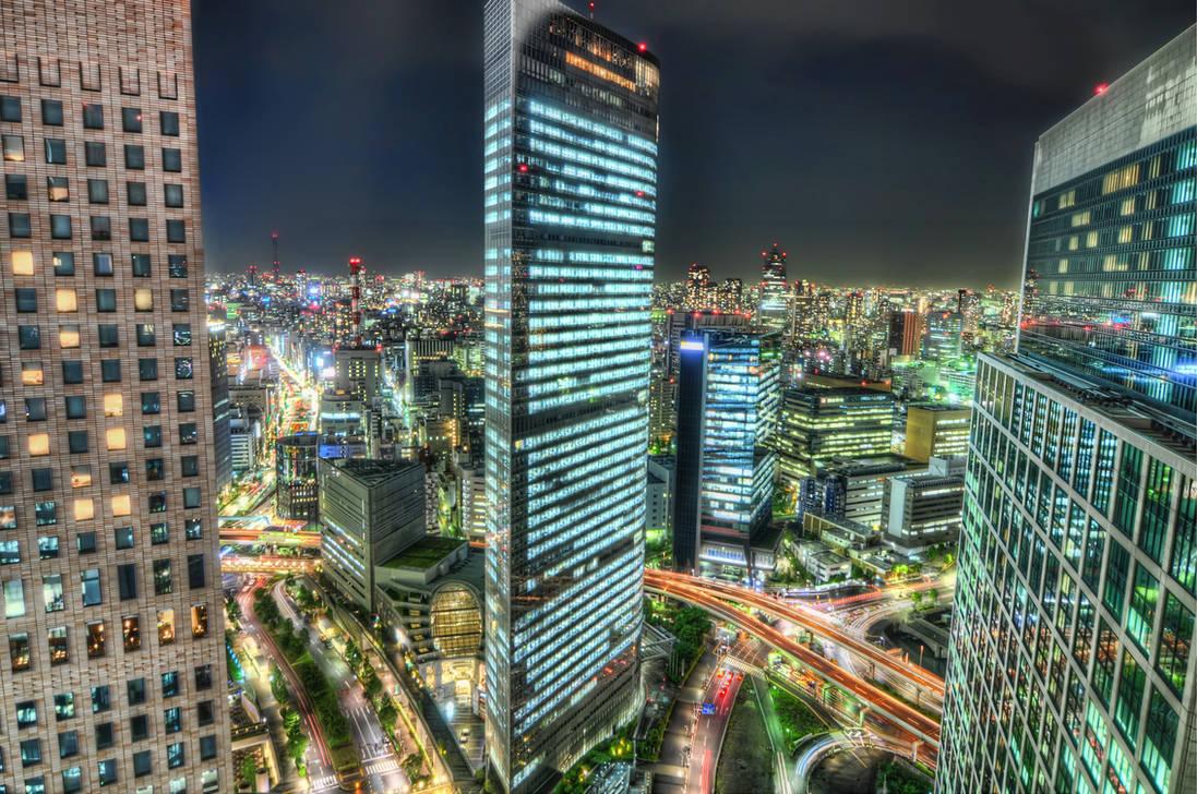 Tokyo by Night by 4ColourProgress