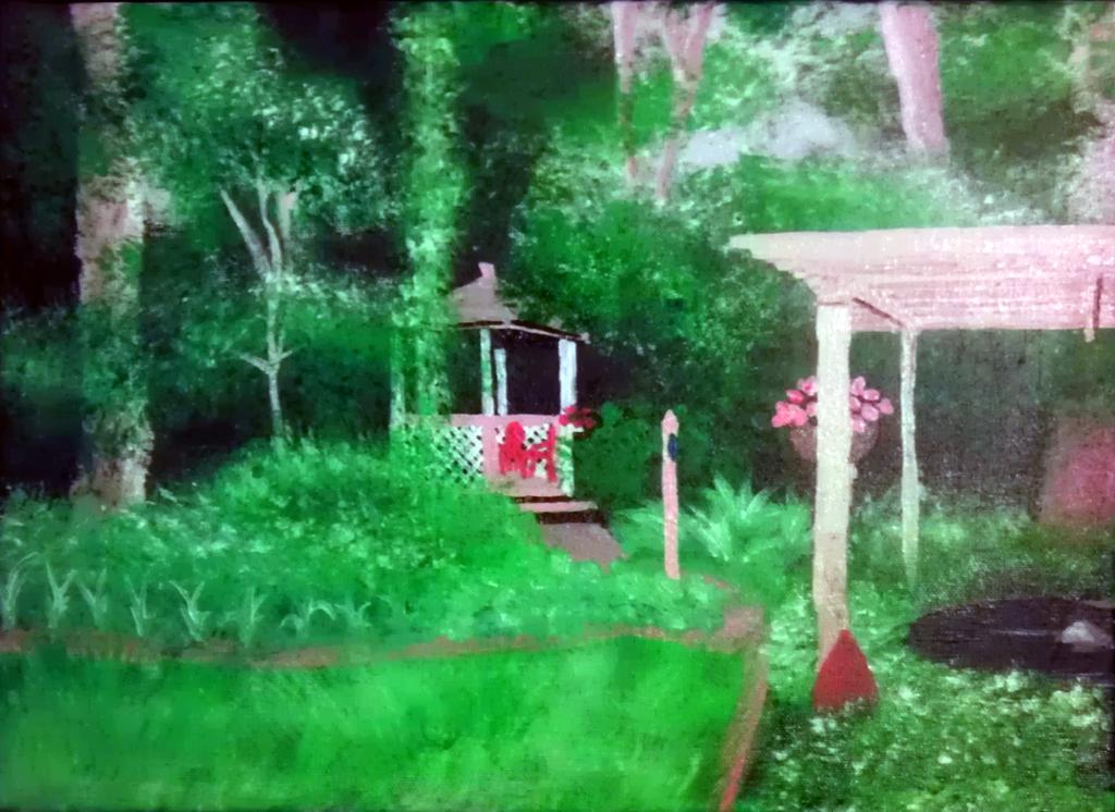 backyard sanctuary by glassdrakaina on deviantart