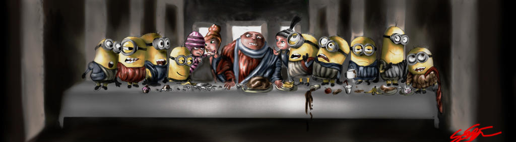 The Yellow Supper by JamesPhillips1
