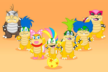 The Koopalings! by CarlyontheMoon