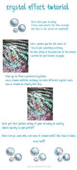 Crystal effect tutorial