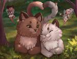 Valentines - Cat and fairies calendar!