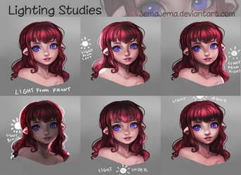 Lighting studies by jemajema