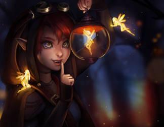 Fairy lantern by jemajema