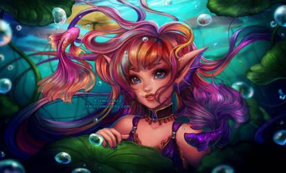 Betta Fish Mermaid