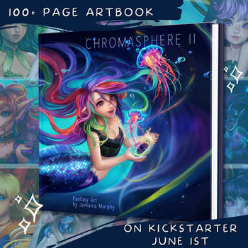 Chromapshere II Artbook!
