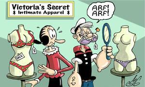 Popeye Goes Shopping
