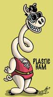 Plastic Ham by Smigliano