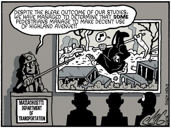 Salem News: Highland Avenue Study by Smigliano