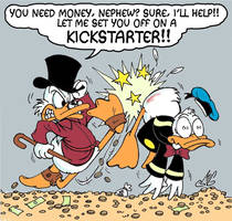 Scrooge and Donald